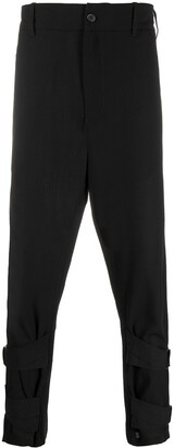 Ann Demeulemeester Strap Ankle Trousers