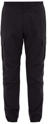 Paul Smith Tailored Cotton-blend Cargo Trousers - Navy