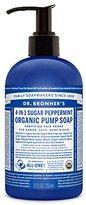 Dr. Bronner's Fair Trade & Organic Shikakai Hand & Body Pump Soap - (Spearmint/Peppermint, 12 oz)