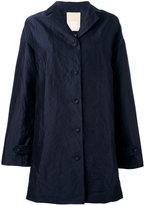 Pascal Millet - satin trench coat - women - Silk/Cotton/metal - L