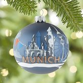 Crate & Barrel City Munich Ball Ornament