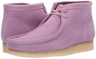 Clarks Wallabee Boot (Spearmint Suede) Men's Lace-up Boots
