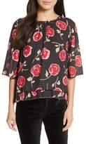 Kate Spade Women's Hazy Rose Layered Top