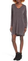 Lush Rib Knit Shift Dress