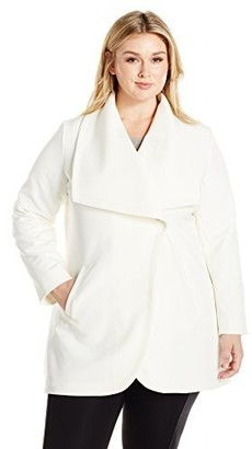 Lark & Ro Amazon Brand Women's Plus Size Single Button Jacket