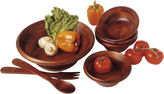 Lipper 7-pc. Wood Salad Serving Set