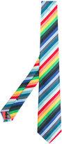 Paul Smith diagonal striped tie