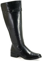 VANELi Ramex - Black Leather Tall Boot