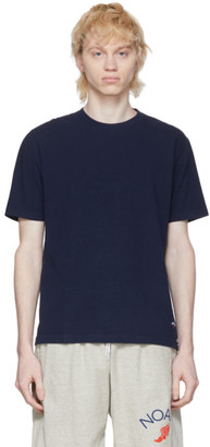 Noah NYC Navy Recycled Cotton T-Shirt