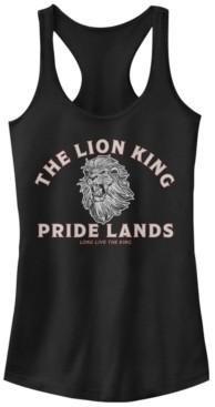 Fifth Sun Disney Juniors' Lion King Minimal Lion King Back Ideal Racerback Tank Top