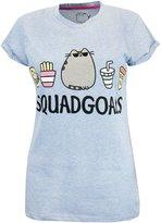 Pusheen Ladies Pusheen the Cat Squadgoals Short Sleeve T-shirt