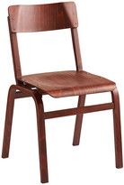 Rejuvenation Stackable Plywood Side Chair from Belgium