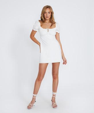 Don't Ask Amanda Casey Floaty Dress White