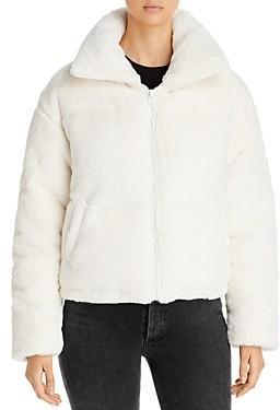 Apparis Billie Faux Fur Puffer Jacket