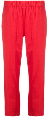Erika Cavallini High-Rise Cropped Skinny Trousers