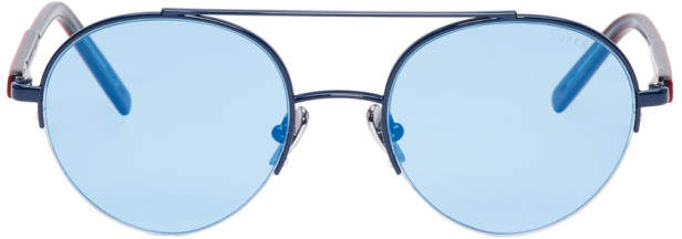 Super Blue Cooper Sunglasses
