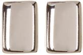 Argentovivo Sterling Silver 4mm Bar Stud Earrings