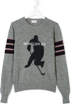 Moncler teen hockey sweater