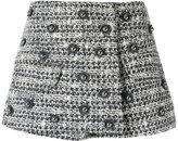 Andrea Bogosian - tweed mini skirt - women - Cotton/Acrylic/Polyester/Wool - M