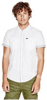 G by Guess GByGUESS Men's Vurnell Poplin Shirt
