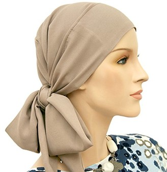 Hats for You Women's Short Tail Chemo Head Wrap