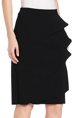 Chiara Boni La Petite Robe Andree Ruffled Pencil Skirt