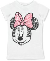 "Disney Minnie Mouse Big Girls' ""Crackled Hearts"" T-Shirt - , 10-12"