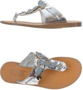 Ruco Line Toe strap sandals