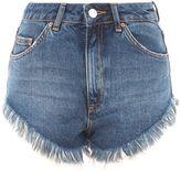 Topshop Frey Hem Kiri Shorts