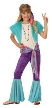 BuySeasons Big Girls Hippy Child Costume
