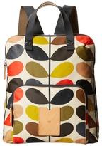Orla Kiely Matt Laminated Classic Multi Stem Backpack Tote Tote Handbags