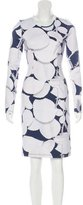 Cynthia Rowley Leaf Print Long Sleeve Dress w/ Tags
