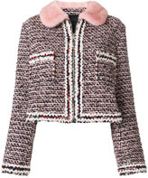 Moncler Gamme Rouge cropped tweed jacket