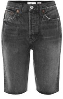 RE/DONE 80s skinny denim shorts