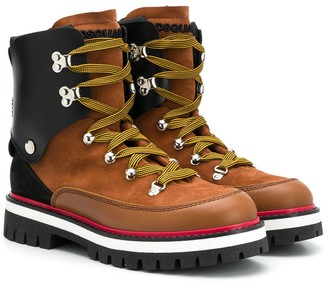 DSQUARED2 TEEN lace-up boots