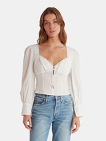 Finders Keepers Florence Sweetheart Cotton Top