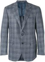 Canali checked blazer