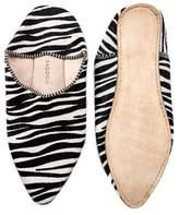 Ragdoll LA BABOUCHE SLIPPERS Zebra