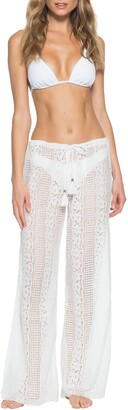 Becca Poetic Split Wide Leg Cover-Up Pants