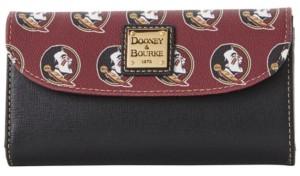 Dooney & Bourke Florida State Seminoles Saffiano Continental Clutch