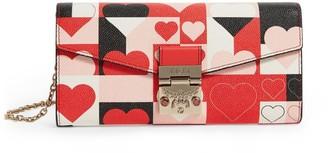 MCM Cubic Valentine Patricia Cross-Body Wallet
