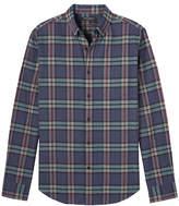 Banana Republic Grant Slim-Fit Flannel Tartan Oxford Shirt