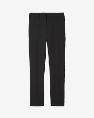 Express Slim Black Stripe Wool-Blend Suit Pant