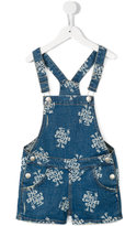 Bobo Choses logo print denim dungarees