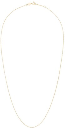 Anni Lu Cross 18kt gold-plated silver chain