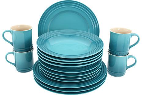 Le Creuset 16-Piece Dinnerware Set