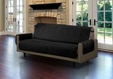 Linenstore Quilted Microfiber Pet Dog Couch Sofa Furniture Protector Cover (Black, Sofa) by Linen Store