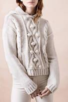 Smythe Knit Cable Sweater