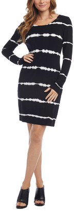 Karen Kane Tie-Dye Sheath Dress