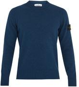 Stone Island Wool-blend knit sweater